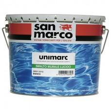 Unimarc smalto murale lucido